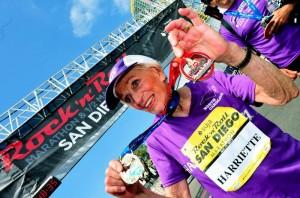Harriette Thompson a 92 anni al traguardo in maratona, è record