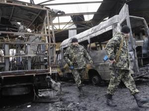 Ucraina, mezzo militare salta su mina anticarro: 7 soldati morti