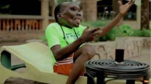 Godfrey Baguma, uomo più brutto d'Uganda papà per l'ottava volta