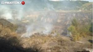 Vesuvio, incendio vicino Ercolano: in fiamme macchia mediterranea e rifiuti