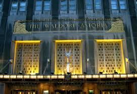 New York, nozze con spari al Waldorf Astoria: 5 feriti