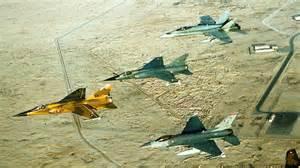 Jets della coalizione araba