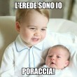"""""""Baby George ti disprezza"""", il principino cattivissimo... su Facebook 03"""