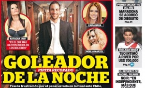 Stampa contro Higuain: «Goleador de la noche» Stampa contro Higuain: «Goleador de la noche» L'attaccante del Napoli nel mirino della critica argentina