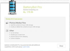BatteryBot Pro, app truffa: invece di far risparmiare batteria prosciugava conti