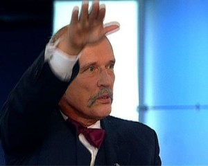 Video YouTube: saluto nazista in aula eurodeputato polacco Janusz Korwin-Mikke