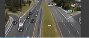 Aereo atterra in autostrada nel New Jersey