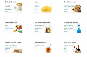 Amazon Italia, cibo e prodotti per la casa in vendita online