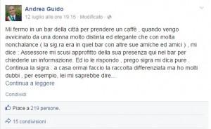 Preservativo, dove buttarlo? Assessore Andrea Guido lo spiega su Facebook...