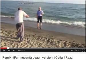 "VIDEO Youtube: Antonio Razzi in ""Famme canta'"" beach version"