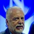 Aurelio De Laurentiis denunciato per aggressione a poliziotto aeroporto Napoli