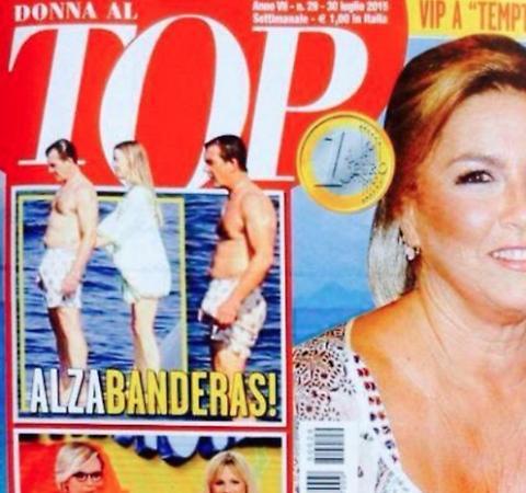 Antonio Banderas, Alzabanderas su Top: FOTO erezione in costume mentre Nicole Kimpel...