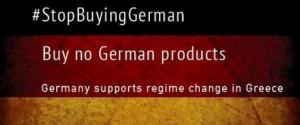 #BoycottGermany: su Twitter i pro-Grecia invitano a boicottare prodotti tedeschi