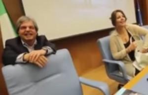 """Brunetta alla Gardini, il fuori onda: """"Quand'è che uccidete la Merkel?"""""""