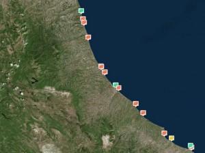 Abruzzo: le 7 spiagge fortemente inquinate