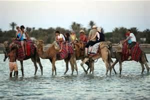 Turisti in Tunisia