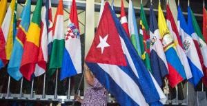 La bandiera cubana al Dipartimento di Stato