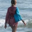 Daniela Santanchè, vacanze al Twiga: partite a racchettoni e bagni in mare21