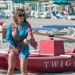 Daniela Santanchè, vacanze al Twiga: partite a racchettoni e bagni in mare20