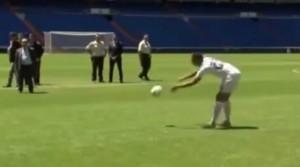 VIDEO YouTube - Danilo si presenta al Real Madrid ma non riesce a palleggiare