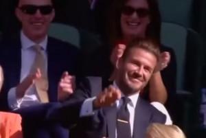 VIDEO YouTube: David Beckham afferra la pallina al volo a Wimbledon