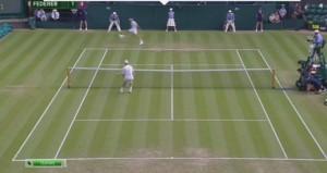 VIDEO YouTube Roger Federer magia, pallonetto con racchetta in mezzo alle gambe