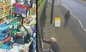 Gb, due pensionati eroi bloccano rapinatore all'interno del negozio