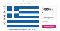 Se ogni europeo  mettesse 3 euro  Grecia si salva Raccolta fondi