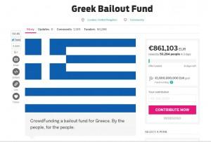 Grecia, raccolta fondi online fallisce. Ma ora a chi vanno i 2 mln di euro?