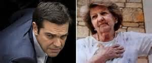 Tsipras e la mamma Aristi