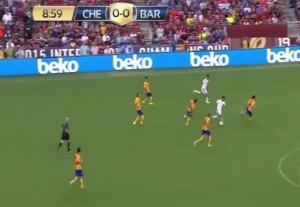 VIDEO YouTube - Eden Hazard show contro il Barcellona: ne supera tre e...