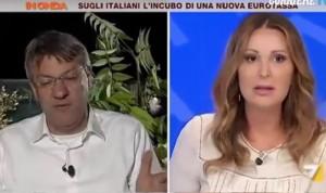 """VIDEO YouTube - Landini-Santanché, battibecco in tv: """"Mettetele un bavaglio"""""""