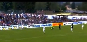 VIDEO YouTube - Inter-Stuttgarter Kickers 4-3: gol e highlights