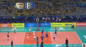 VIDEO YouTube - Italia-Serbia pallavolo 3-2. Highlights Final Six 2015