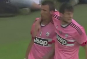 VIDEO YouTube - Juventus-Lechia 2-1, gol - highlights: Mandzukic firma vittoria