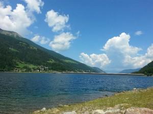 Alto Adige, sub disperso nel lago di Zoccolo
