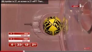 Video Youtube: lotteria truccata in Serbia, il 21 su schermo prima di estrazione