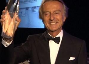 Luca Cordero di Montezemolo nella Hall of Fame dell'auto