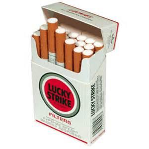 Stretta su sigarette