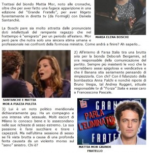Dagospia: Maria Elena Boschi ha un debole per Mattia Mor, ex Grande Fratello?