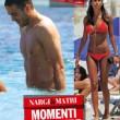 Federica Nargi-Alessandro Matri: bagno sexy a Formentera FOTO