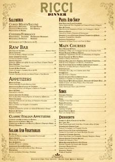 Ricci Milano, il ristorante di Belen Rodriguez e Joe Bastianich: ecco il menù