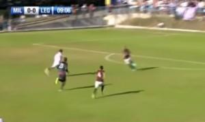 VIDEO YouTube - Diego Lopez, papera contro il Legnano