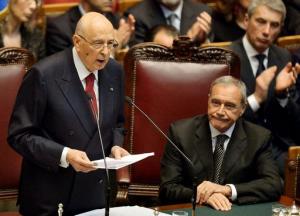 """Napolitano difende ddl Boschi: """"Il bicameralismo perfetto ha generato mostri"""""""