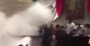 VIDEO YouTube - Oaxaca, Messico: lacrimogeni in Parlamento per rissa politici