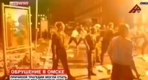 VIDEO YouTube - Omsk (Russia): crolla una caserma, almeno 18 morti