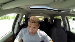 """Giocatore football chiuso in auto sotto al sole a 40 gradi: """"Ecco cosa si prova"""""""