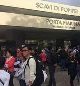Pompei: cancelli chiusi, riunione sindacale. Turisti di nuovo spiazzati