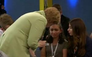 Reem Sahwil, la ragazzina che ha pianto davanti alla Merkel potrà restare in Germania