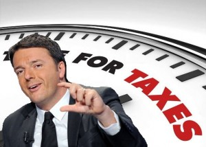 "Renzi, piano taglio tasse. Bruxelles fredda: ""Sconti? Li avete già presi"""